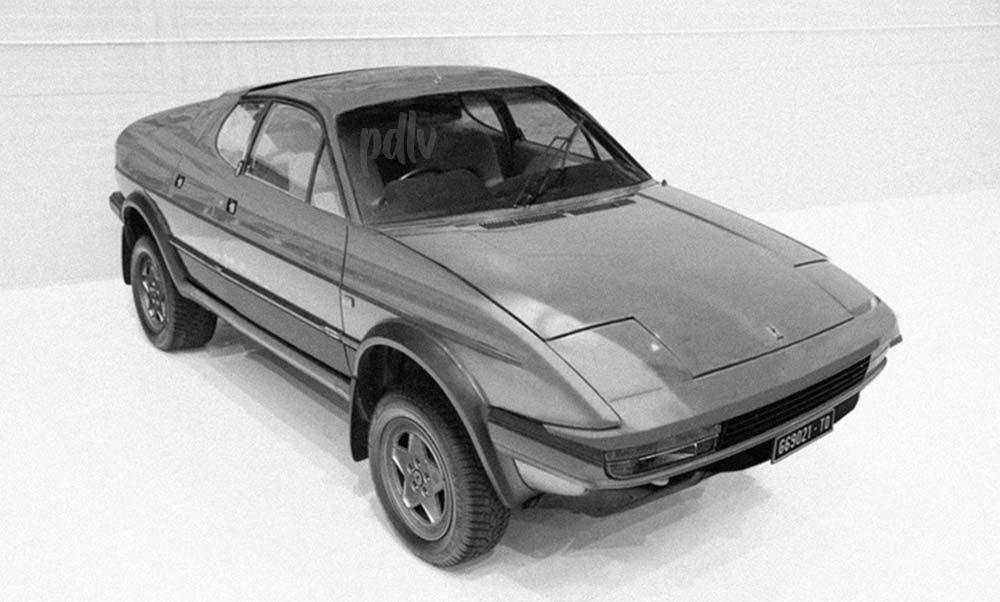 SUV Ferrari Puropesce