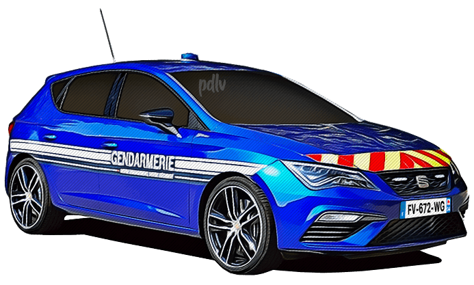 FV-672-WG Seat Leon Cupra gendarmerie