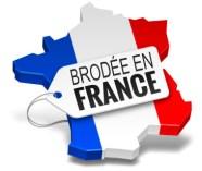 Casquette brodée en France