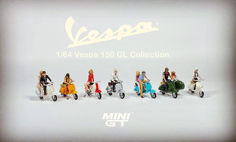 Mini GT 1/64 Scooter Vespa