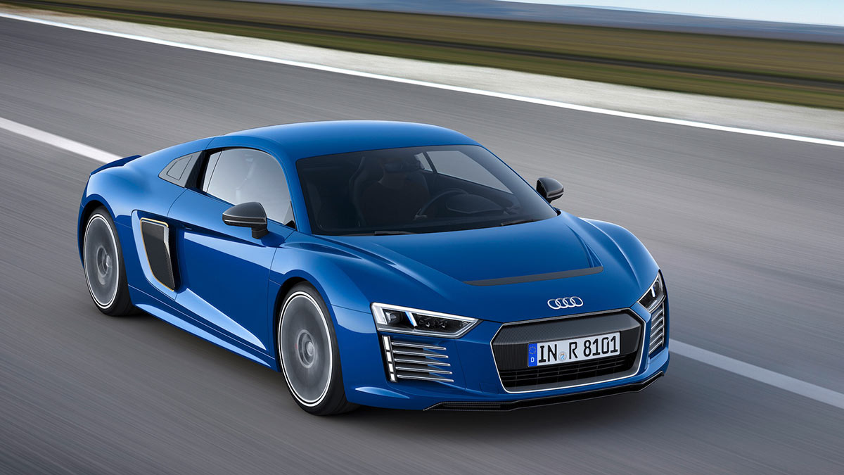 Audi R8 e-tron électrique