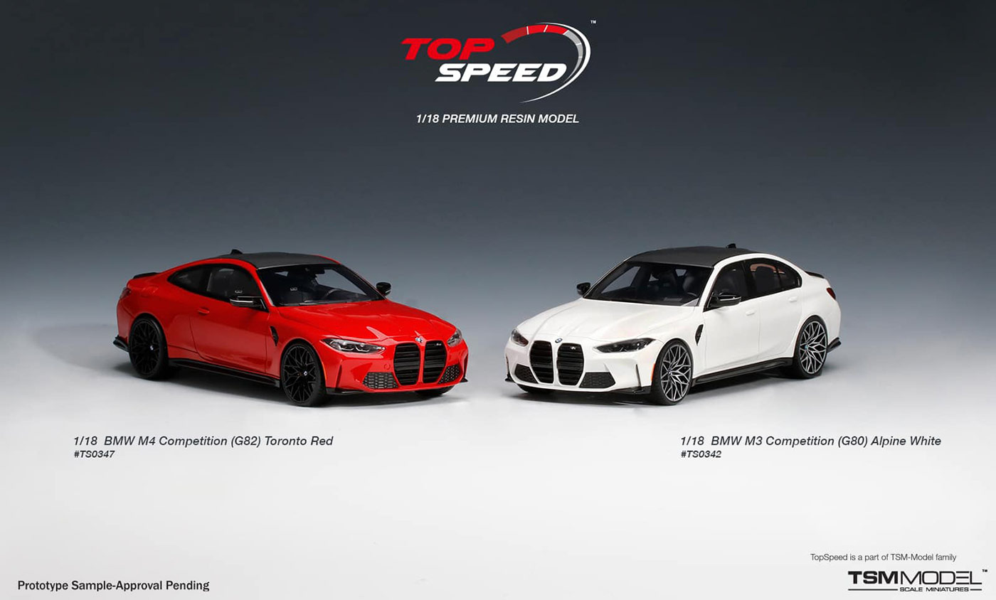 1/18 Top Speed BMW M3 M4