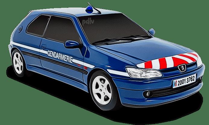 Peugeot 306 Gendarmerie 20013762
