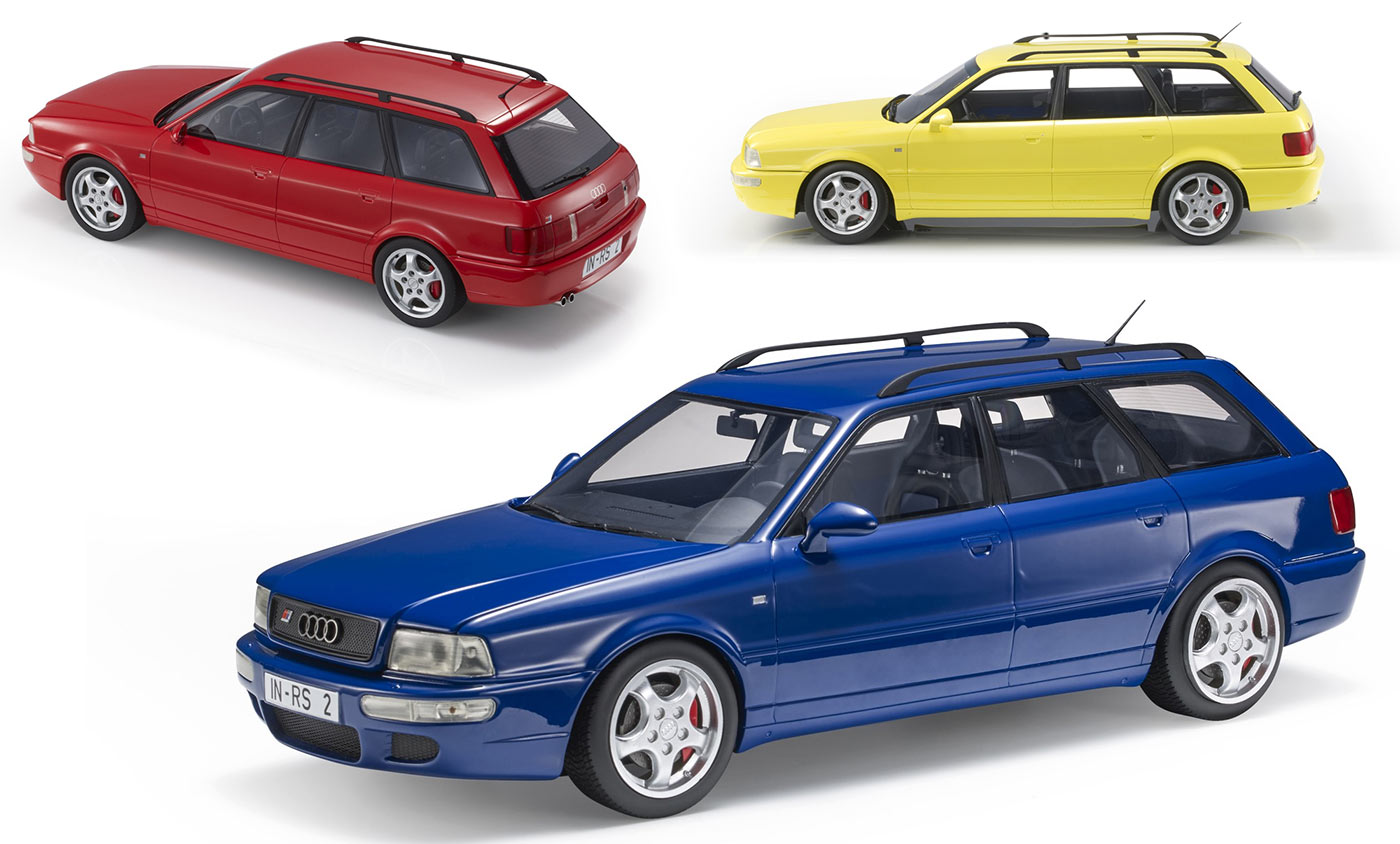 1/18 Audi RS2 LS Collectibles