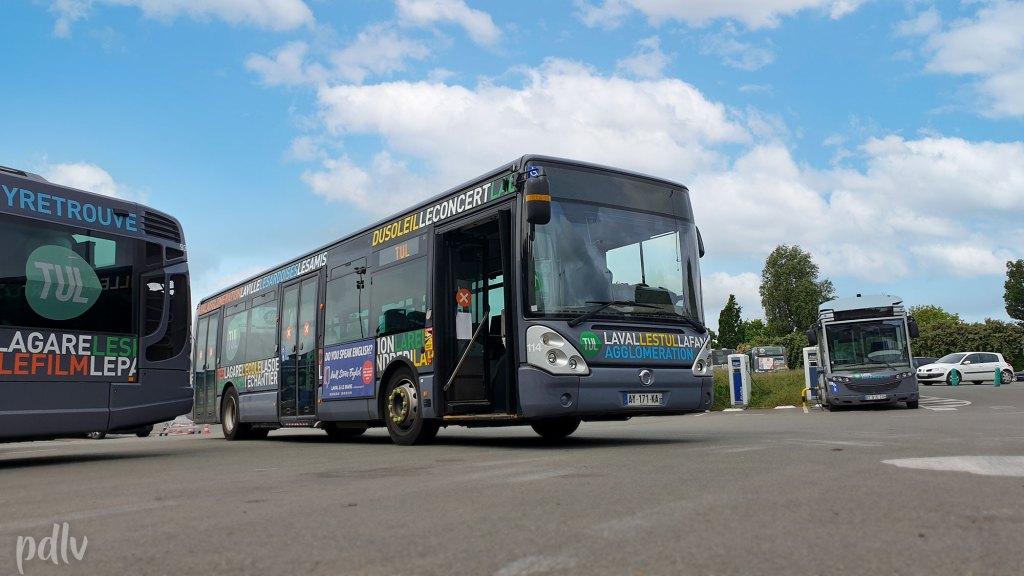 Reportage réseau bus TUL Laval