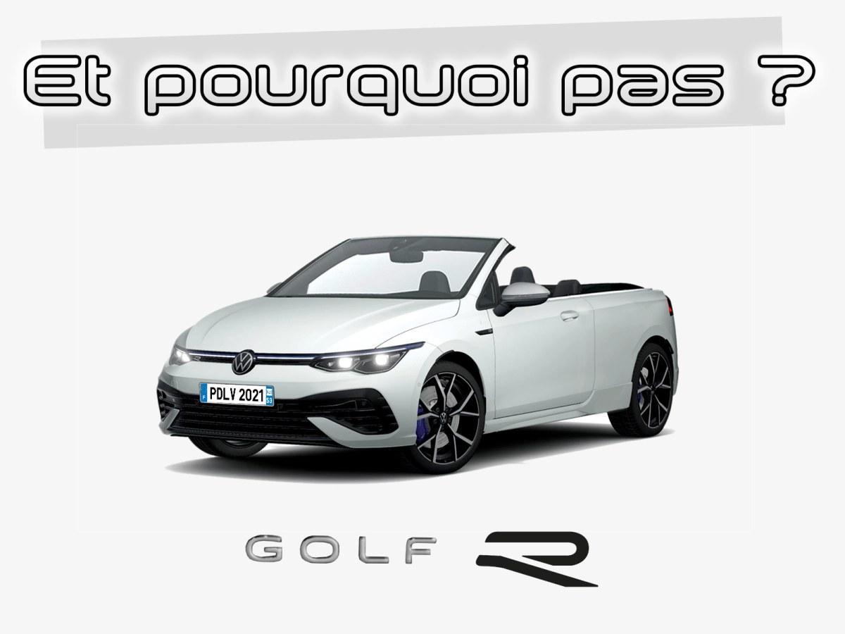Volkswagen Golf 8 R cabriolet