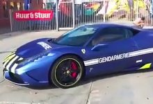 Ferrari 458 gendarmerie