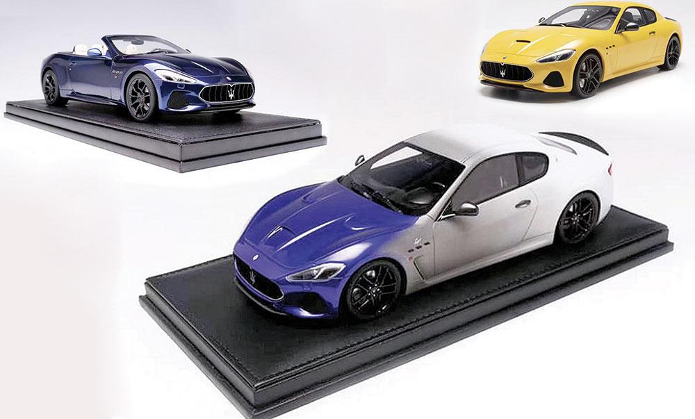 1/18 Maserati GranTurismo Motorhelix