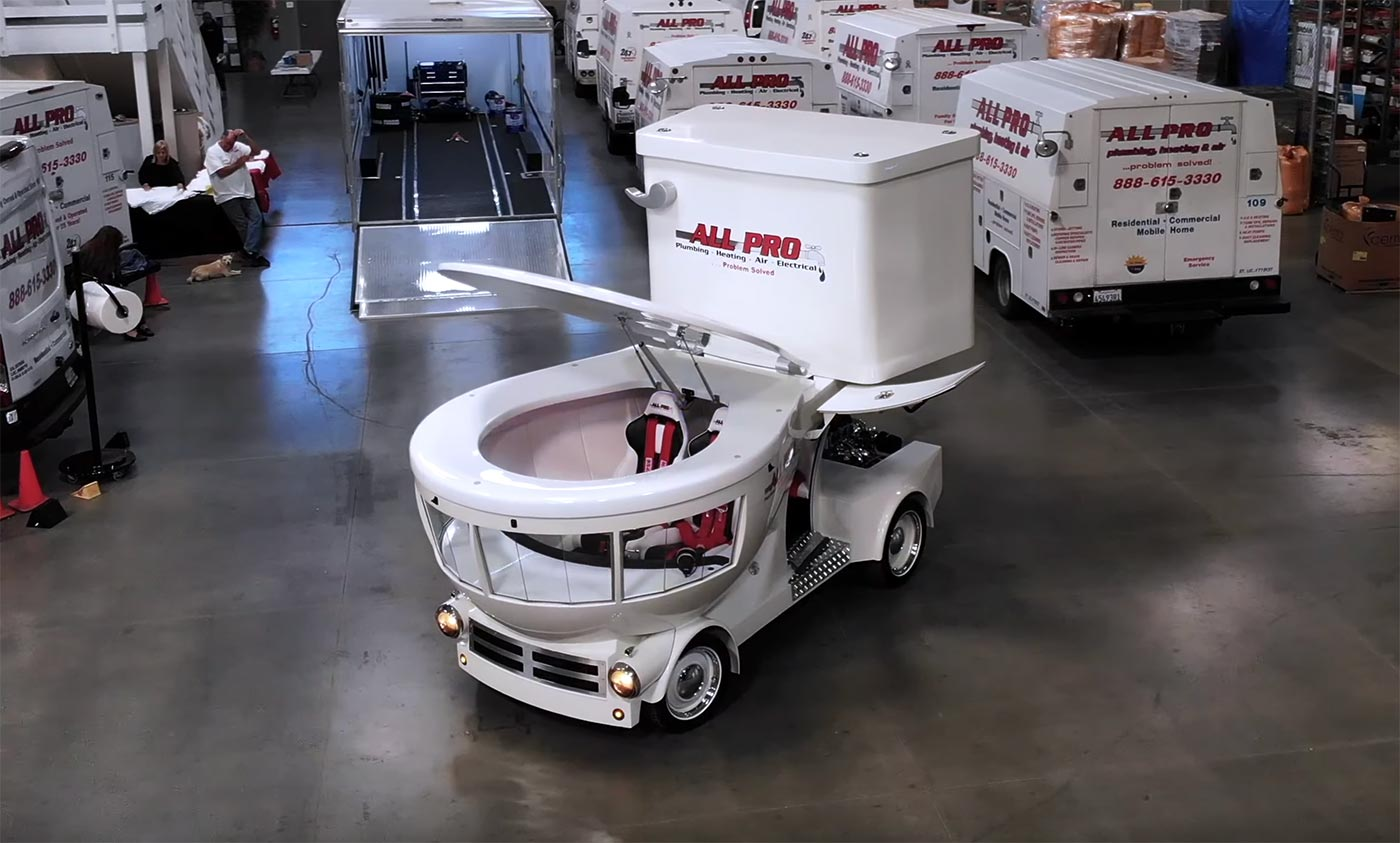 Voiture WC All Pro Plumbers