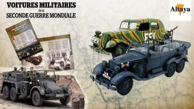 1/43 Altaya voitures militaires Seconde Guerre mondiale
