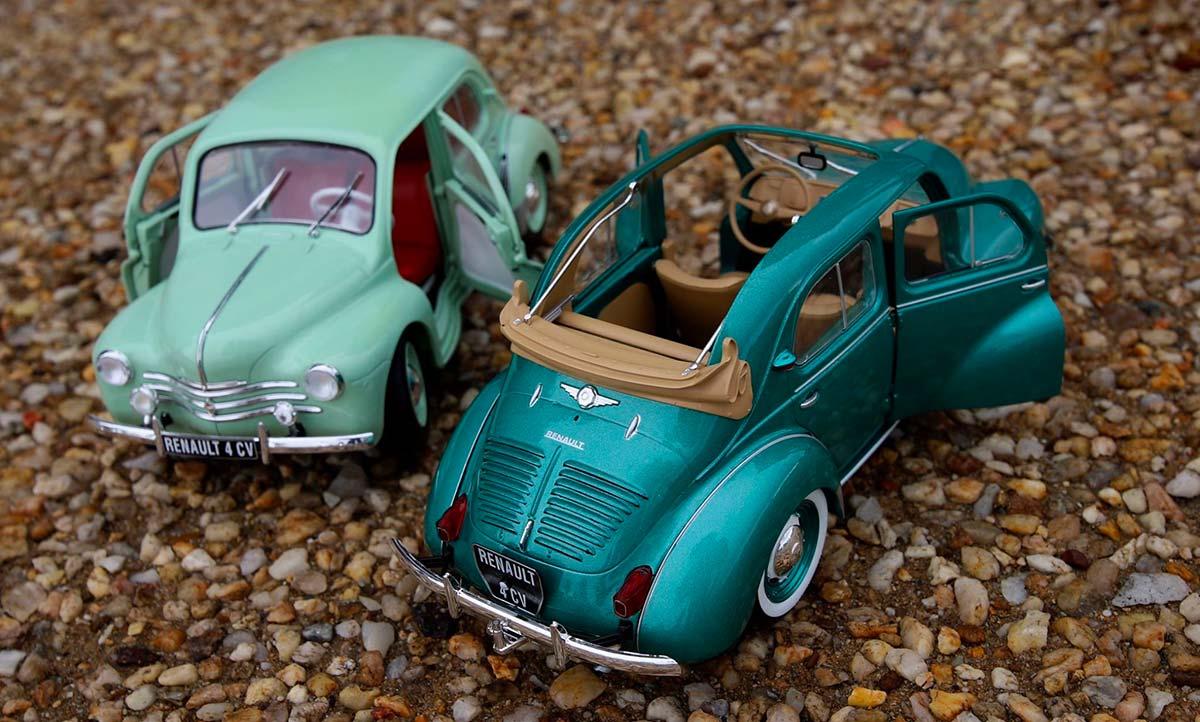 1/18 Renault 4CV Solido