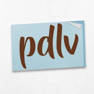 Sticker marron PDLV STQ