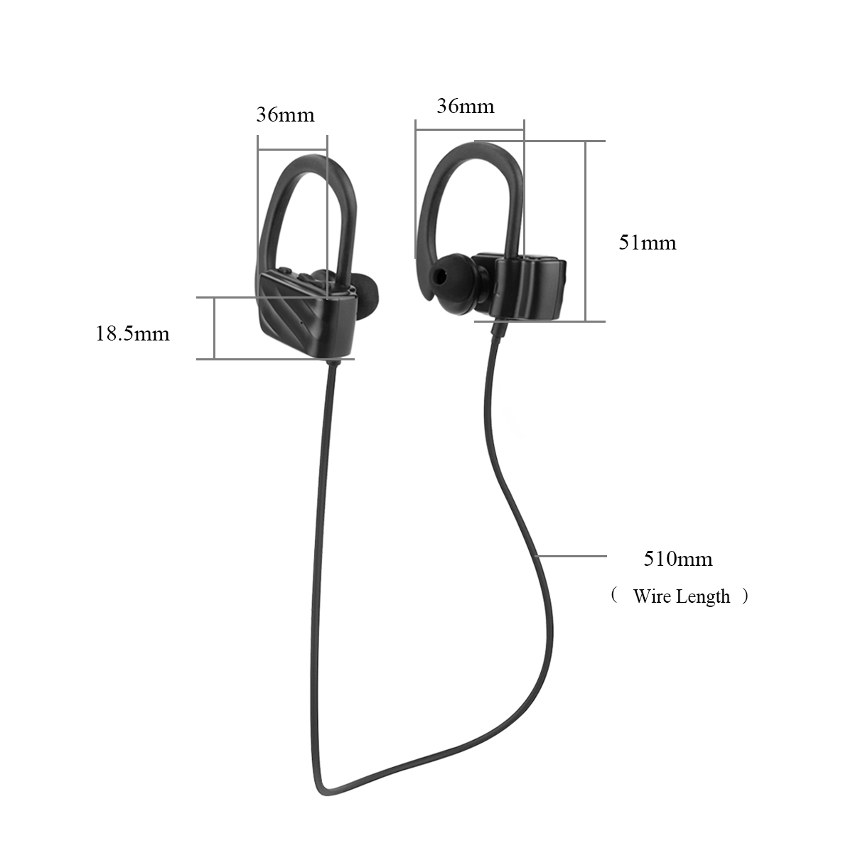 Bluetooth Wireless Headphones In Ear Headset Stereo With