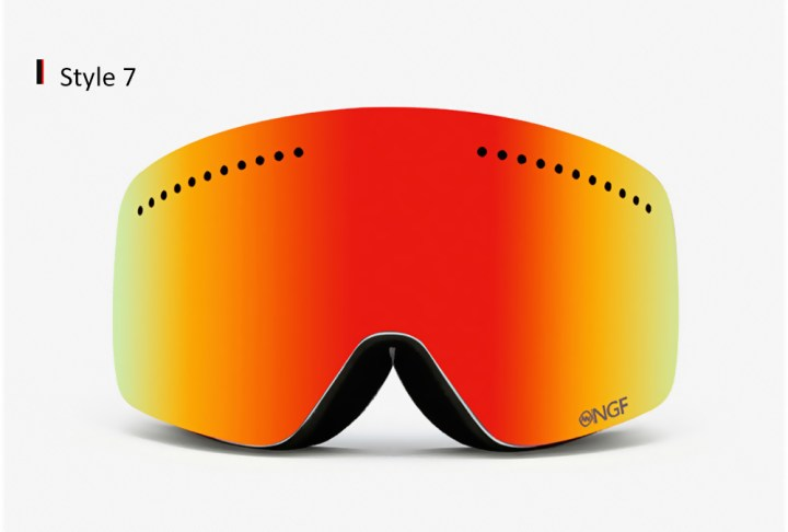 Generic Anti fog Double Lens Ski Goggles For Adults Colormix price in Nigeria