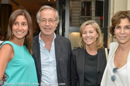 Myriam Kournaf, Olivier Orban, Claire Chazal, Christine Orban