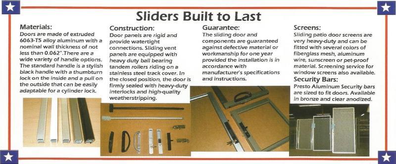 Replacement Sliding Patio Doors by Metal-Craft-Pro Door Repair