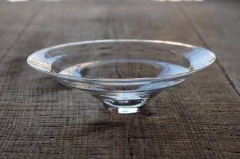 艸田正樹さんのガラス鉢 : うつわノート