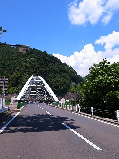 奥多摩周遊道路を下ったところにある三頭橋 出典: K100Dとパンケーキ+K20D+GR+K-5Ⅱs+RX100