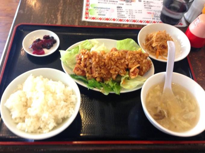 「油淋鶏定食」の画像検索結果