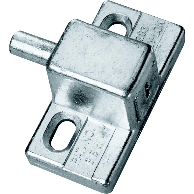 prime line 1599 k sliding glass patio door push in keyed lock