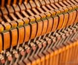 Upright piano hammer mechanism