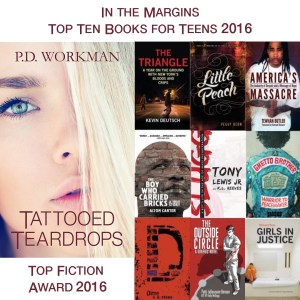 Tattooed Teardrops wins Top Fiction Book for Teens