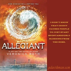 Excerpt from Allegiant by Veronica Roth