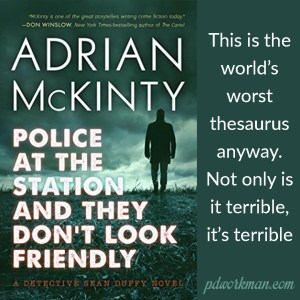 Excerpt from Police at the Station and They Don't Look Friendly