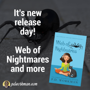 It's new release day! Web of Nightmares and more