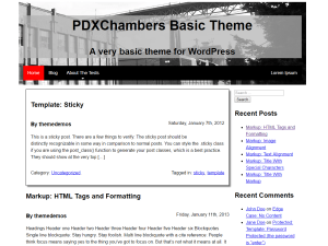 PDXChambers Basic Screenshot