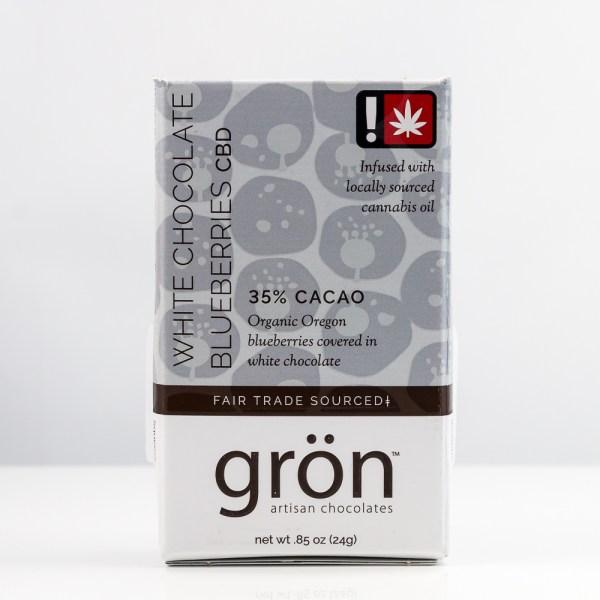 Gron White Chocolate Blueberries CBD | Green Box
