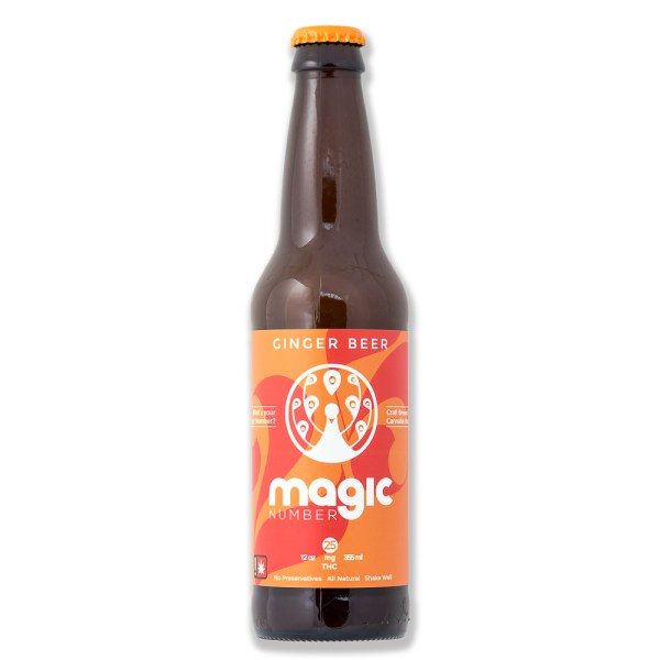 Drink Magic Number Ginger Beer 25 | Green Box