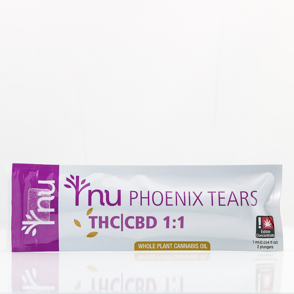 NU Phoenix Tears THC|CBD 1:1 | Green Box