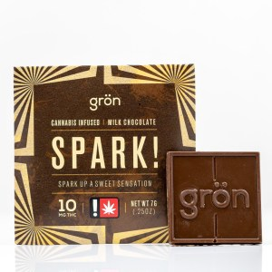 Spark! Milk Chocolate | Green Box