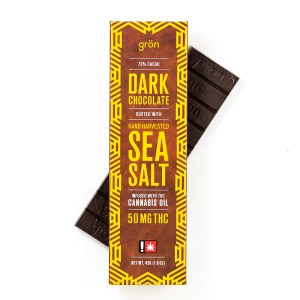 Dark Chocolate Sea Salt THC | Green Box