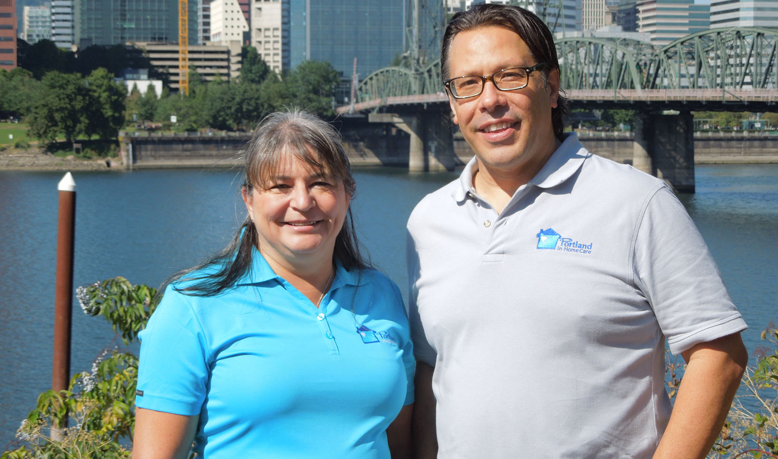 Heather O'Leary and Chris Laird of Portland InHome Care