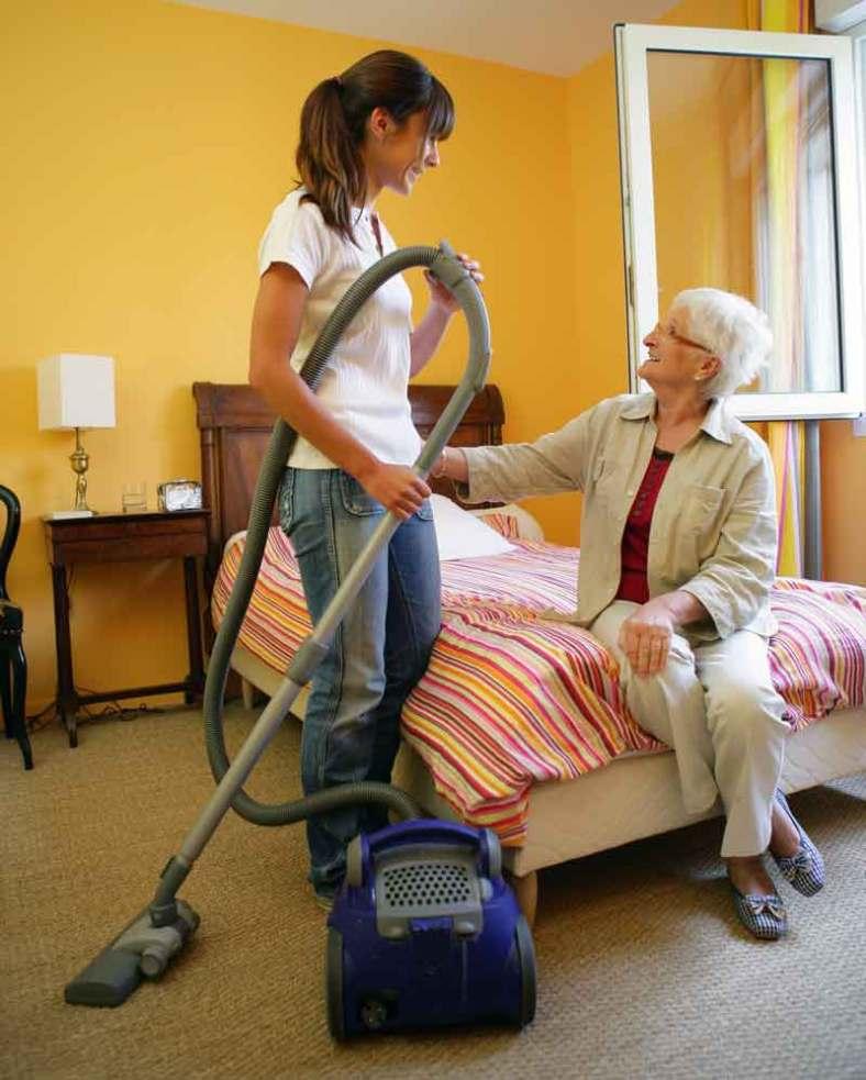 home helper aid with vacuum