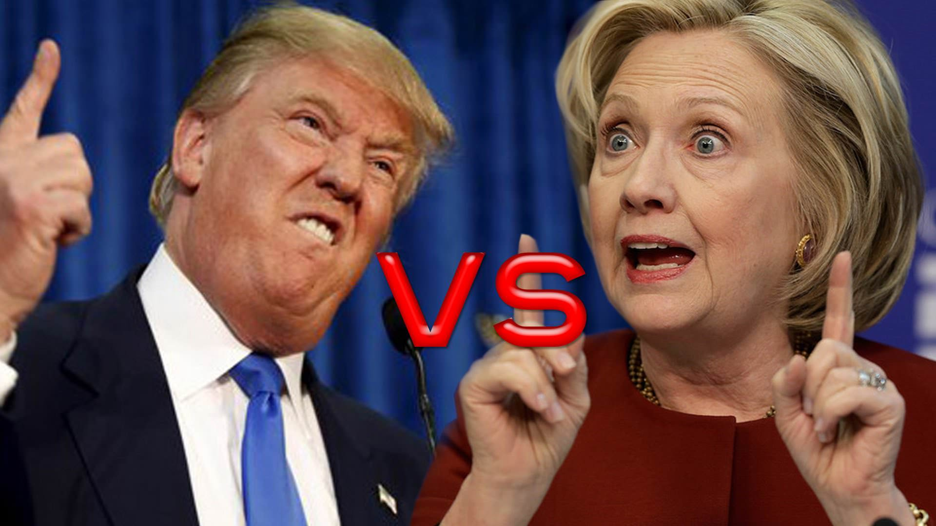 Image result for 2016 trump hillary debate images