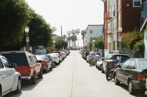 Cars Parked on Street