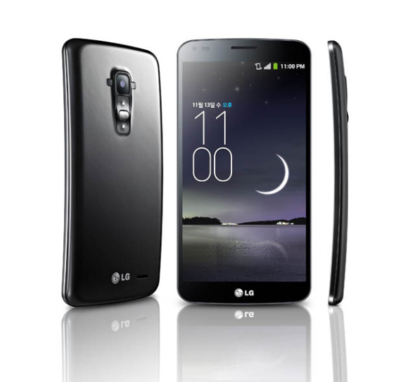 Das LG G Flex