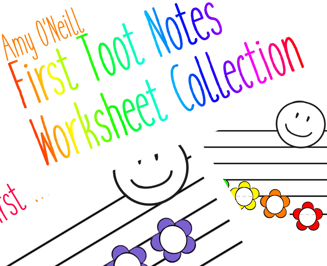 Tiny Toots Note Worksheets