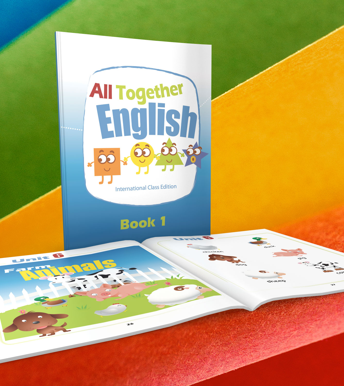 All Together English Book 1 Esl English Lessons For Young