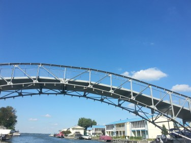 Bridge that is left from when the Lake had the best Amusement Park years ago