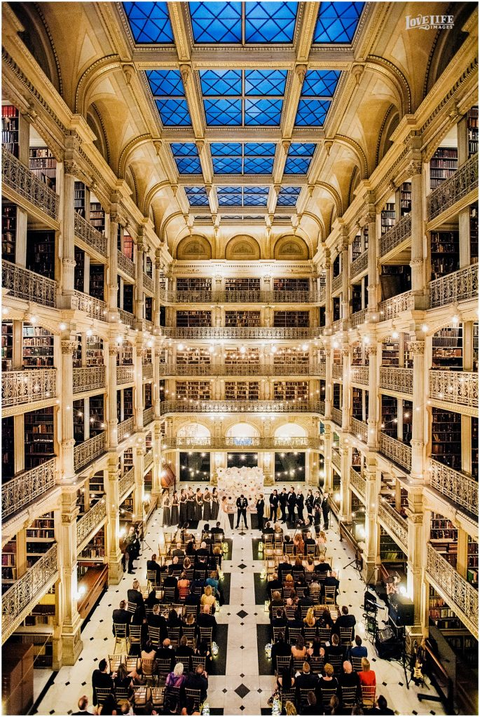 Weddings George Peabody Library Private Events
