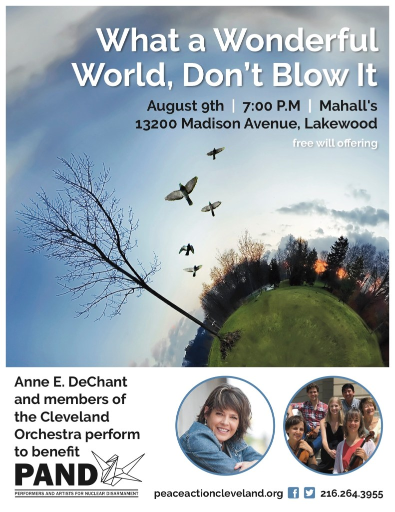 PAND Concert – What a Wonderful World, Don't Blow It