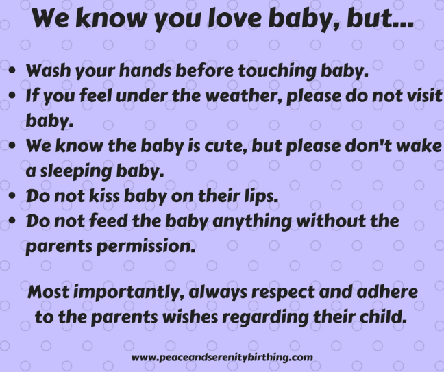 We know you love baby but
