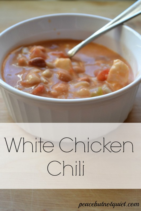 white chicken chili recipe
