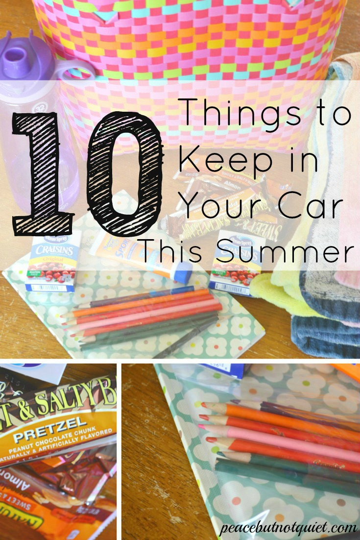 10 things to keep in your car for summer. Black Bedroom Furniture Sets. Home Design Ideas