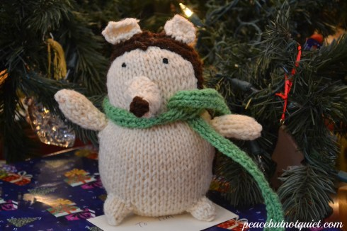 knit hedgehog