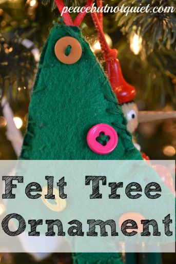 easy sew tree ornament